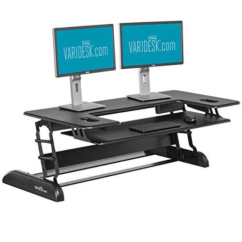 VARIDESK Cube Plus 48 Sitz-Steh-Schreibtisch - Steharbeitsplatz