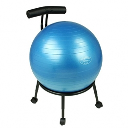 Carnegie Ball Chair - Bürostuhl-Sitzball-Kombi