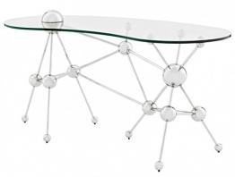 Casa Padrino Luxus Schreibtisch Glas