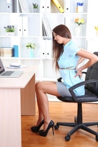Chefsessel gegen Rückenschmerzen