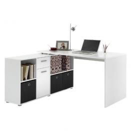 FMD Möbel Winkelkombination LEX Schreibtisch circa 136 x 75 x 68 cm