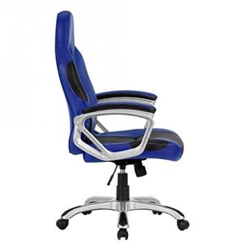 LANGRIA Gaming Stuhl seitenansicht