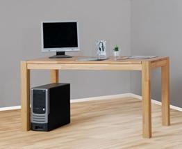 Eckschreibtisch holz massiv  ➀ Schreibtisch aus Holz ▷▷▷ alle Infos ◁◁◁ BueroMoebel.NET