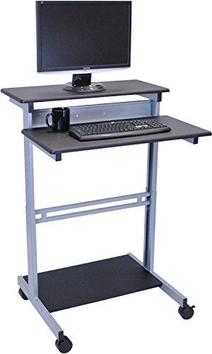 mobiler-ergonomischer-stand-up computerschreibtisch